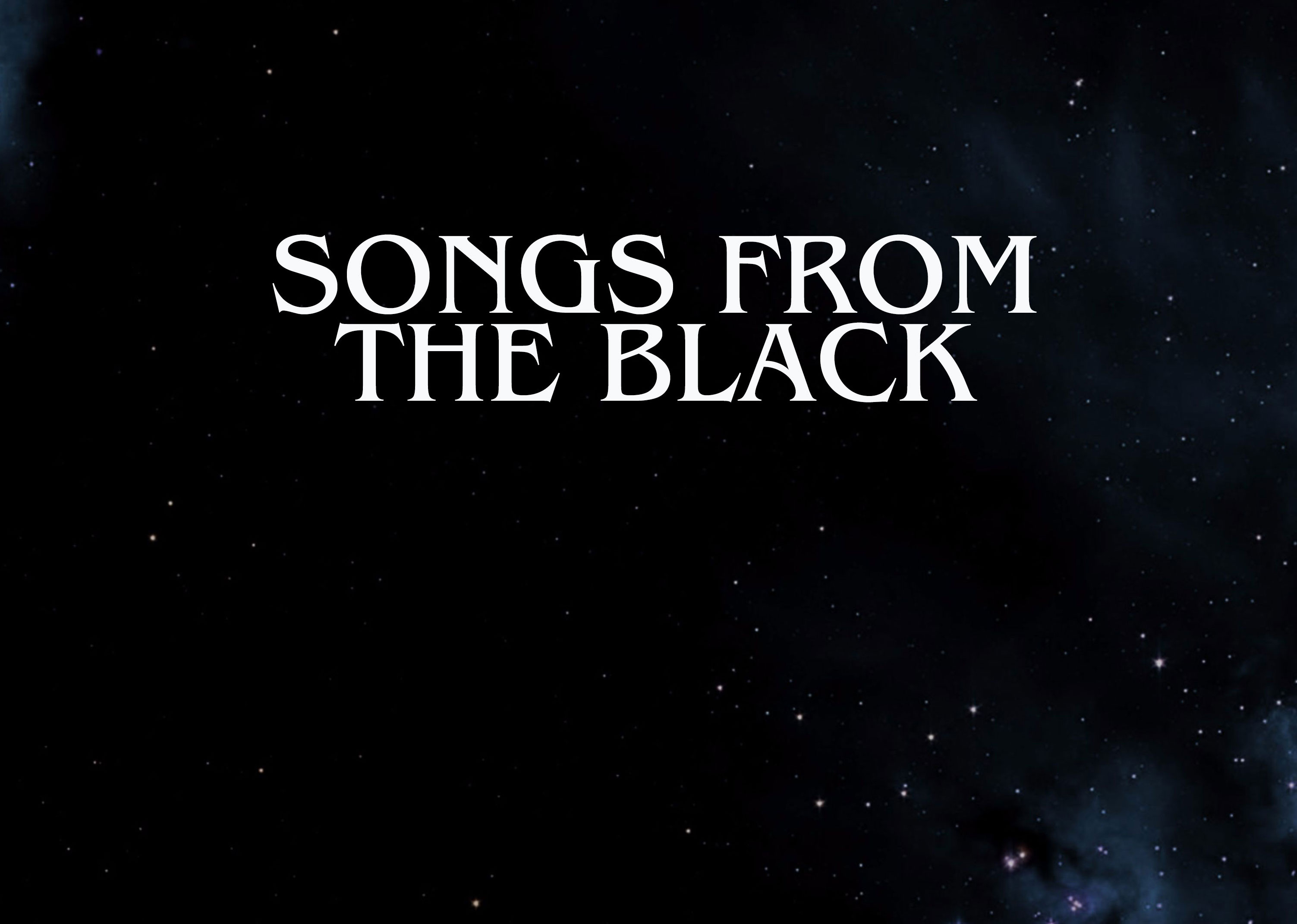Songs from the Black
